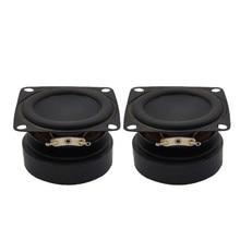 SOTAMIA 2 adet 2 inç taşınabilir ses ses müzik hoparlörler üniteleri 4 Ohm 10W DIY Bluetooth amplifikatör hoparlör kauçuk yan hoparlör