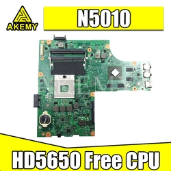 CN-052F31 052F31 52F31 48.4HH01.011 For Dell inspiron 15R N5010 Laptop Motherboard HM57 DDR3 HD5650 1GB Free CPU