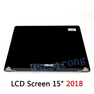 """Image 2 - Nowy ekran LCD A1990 dla Macbook Pro Retina 15 """"A1990 montaż LCD pełny wyświetlacz kompletny montaż 2018 MR932 MR942"""