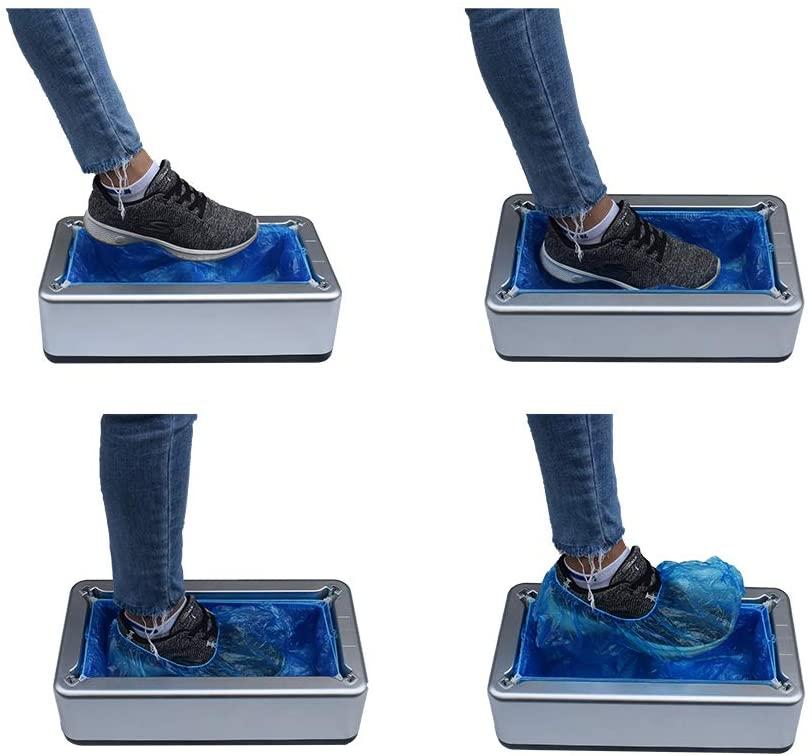 Tampas de sapato descartáveis automáticas anti-deslizamento overshoe