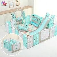 Детский манеж для детей, шары для бассейна для новорожденных, детский манеж для бассейна, детский манеж, Детский защитный барьер, 24 шт.