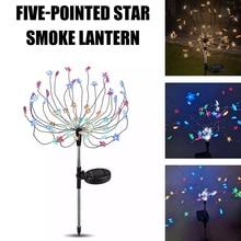 LED Solar Led Light Outdoor Firework Festoon Led Light Christmas Decoration For Home Star Lighting Starburst Lamp Garden Lawn