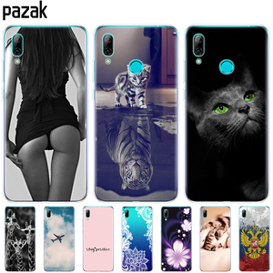 Image 1 - For Huawei Y7 2019 Case for Huawei y7 Prime 2019 Silicon TPU Cover Soft Phone Case For Huawei Y7 2019 Y 7 Y7Prime Y7 Prime 2019