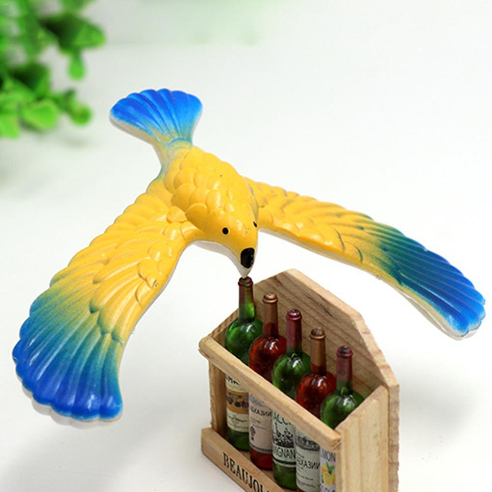 Amazing Balance Eagle Bird Stand Magic Box Funny Novelty Classic Nostalgic Toys For Children Kid Best Gift Stay On Your Finger