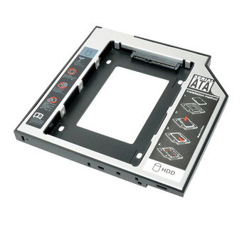 JCX Aluminum Alloy&Plastic 9.5mm 2nd HDD Caddy SATA To SATA 3.0 For Laptop DVD/CD-ROM Optical Bay 2.5
