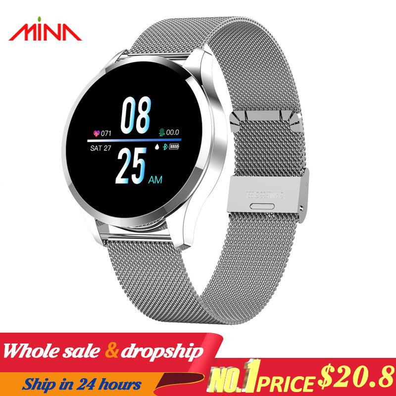 Q9 Smart Watch Waterproof Message call reminder Smartwatch men Heart Rate monitor Fashion Fitness Tracker pk Q8 Q1-in Smart Watches from Consumer Electronics on AliExpress