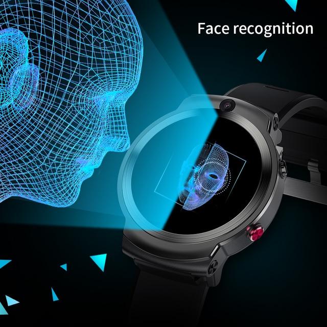 LEMFO LEM13 4G Android GPS Wifi Smart Watch Men Dual 8MP Cameras 1.6 inch Face ID 1280 mAh 3G 32G Smartwatch 6