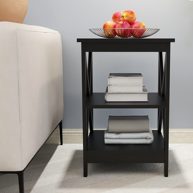 Wooden Square Sofa Side Table 3