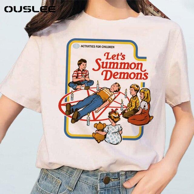 Летняя женская футболка  в японском стиле 1