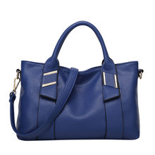 Women Soft Leather Designer Handbags High Quality Shoulder Bags Ladies Handbags Fashion brand PU leather women bags bolso mujer(China)