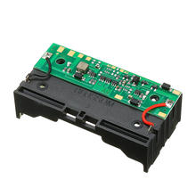 5V Charging UPS Uninterrupted Protection Integrated Board 18650 Lithium Battery Boost Module With Battery Holder