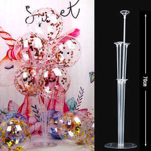 Balloon Stand 7 Tubes Increase more stable Holder Confetti Wave Balloon Baby Shower Birthday Wedding Party Decoration Supplies(China)