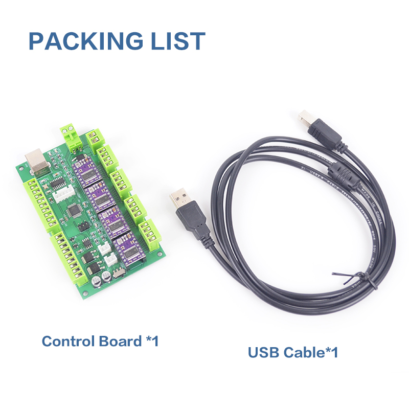 CNC Engraving Machine Control Board CNC Shield GRBL 1 1 USB Port 3 Axis Control Laser Engraving Machine Board in CNC Controller from Tools