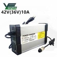 Yangtze Car Lithium Battery Charger 42V 10A for 36V Li ion Polymer Scooter E bike Ebike Carregador De Pilhas Aa