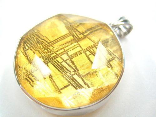 Genuine Natural Gibeon Iron Meteorite Gold Plated Pendant 26mm STAR OF DAVID Women Men Moldavite Rare Necklace AAAAA