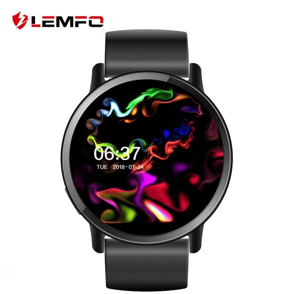 LEMFO LEM X Android 7.1 Smart Horloge 4G Ondersteuning 8MP Camera WIFI sim kaart Hartslagmeter 900Mah GPS horloge Vervanging band-in Smart watches van Consumentenelektronica op  Groep 1