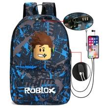 Thunder Backpack USB Anti-theft Women Bagpack Canvas Student Backpack For Boy Gi