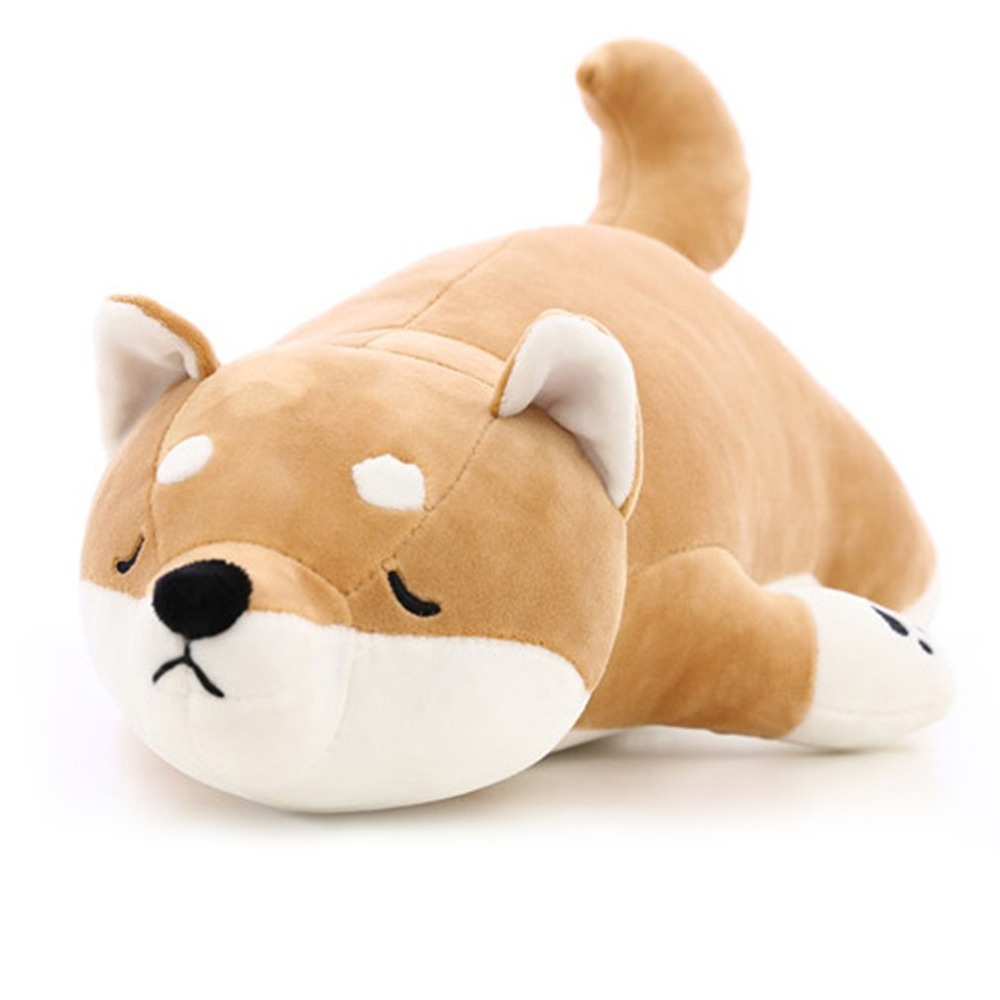 Cute Dog Shape Cushion Plush Toys Stuffed Soft Animal Cartoon Pillow For Home Office Lovely Gift For Children Shiba Inu Kawaii