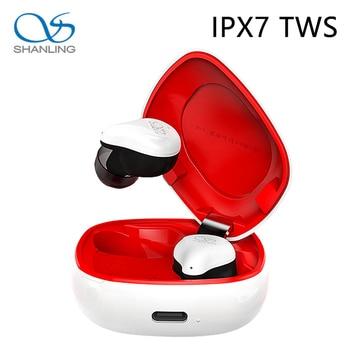 Shanling MTW100 Wireless Earphone TWS Bluetooth 5.0 IPX7 Waterproof In-ear Wireless Earphone