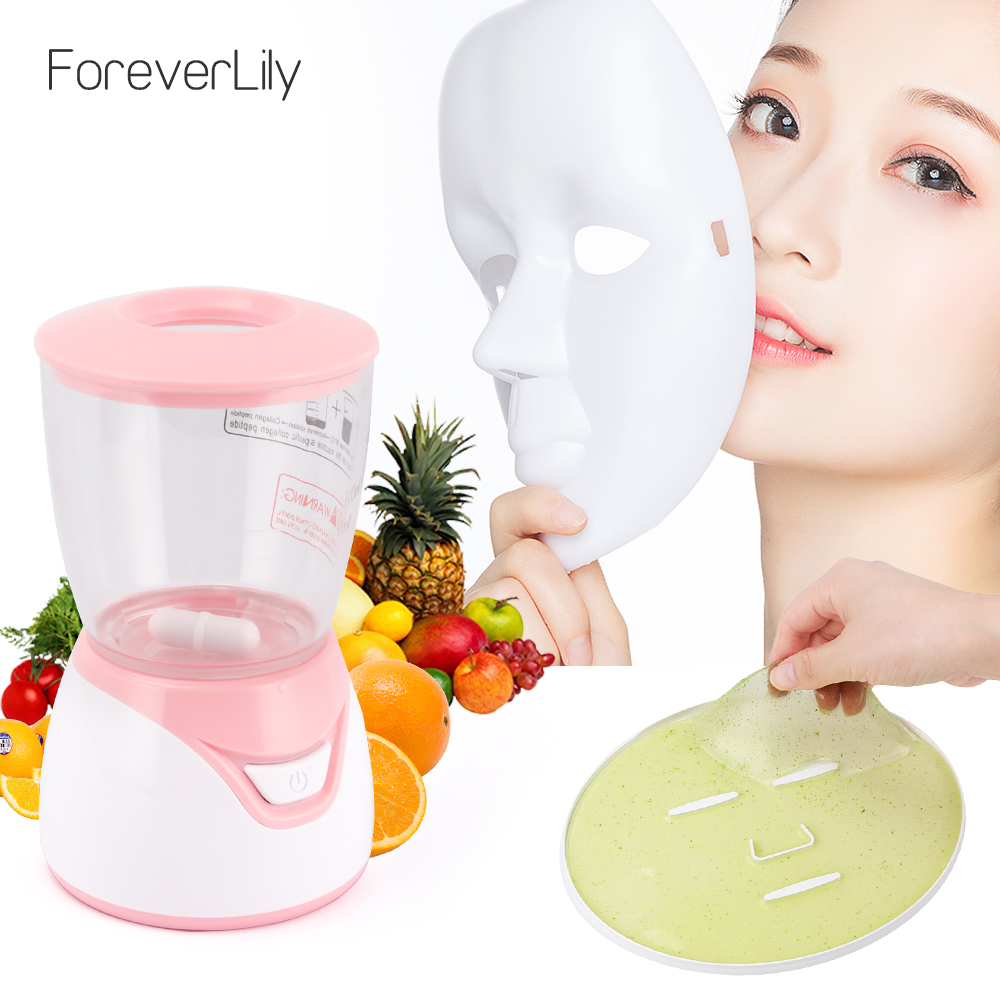 Fruit Vegetable Facial Mask Maker Face Fruit Mask Machine Face Skin Care Tool DIY Automatic Natural Collagen Beauty Facial SPA