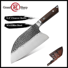 Kitchen Knife Chopping-Knives Handmade Forged 5cr15mov-Steel Professional Grandsharp