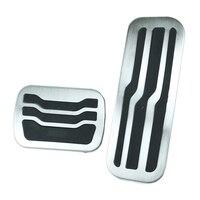 Acessório do carro acelerador gás freio pé resto clutc na almofada de pedal para ford explorer 2011-2017 pedais almofada não-perfuração pedais