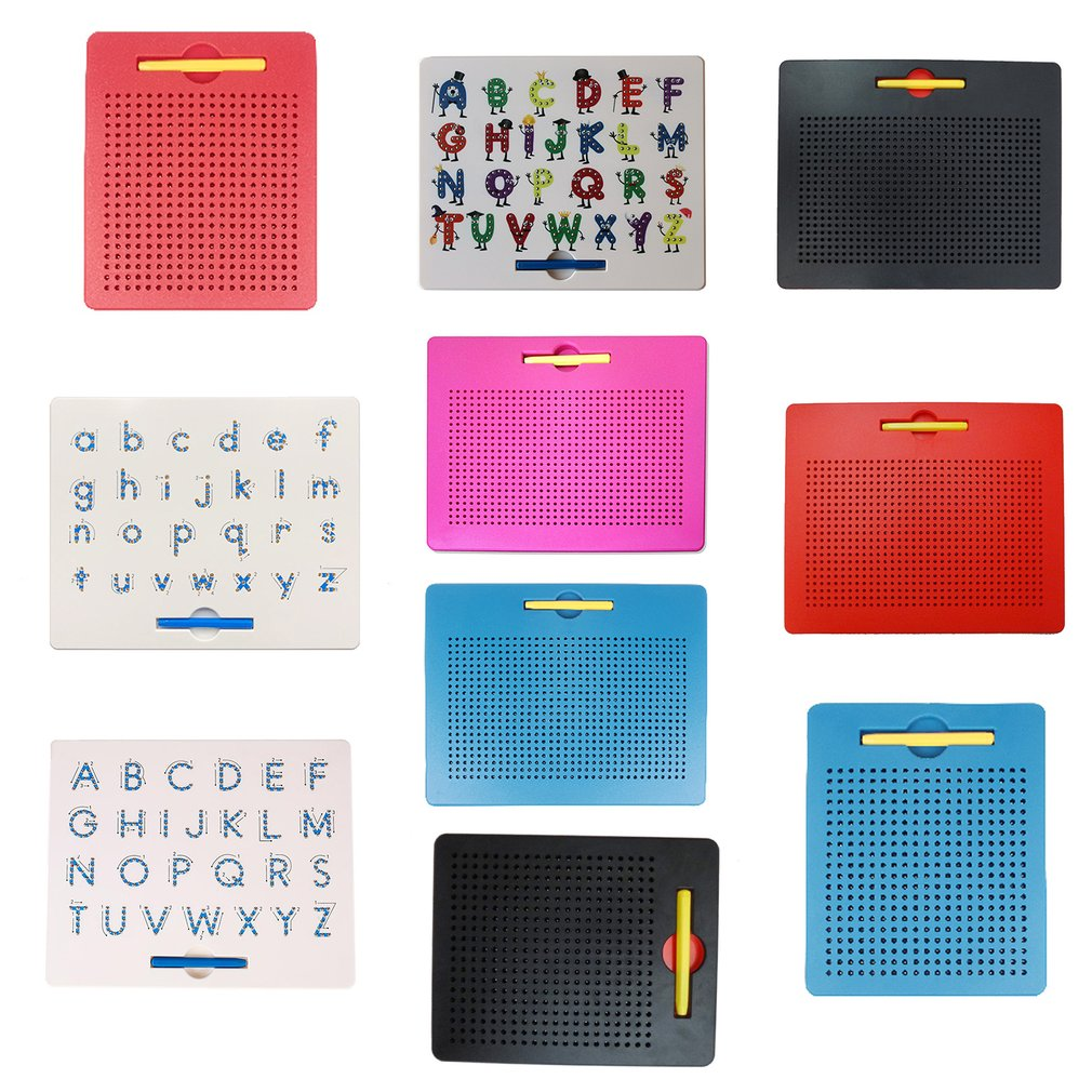 Magnetic  Drawing Board Magnet Letter Board Puzzle Magnetic Board Magnetic Steel Ball Letter Board Early Education Tool