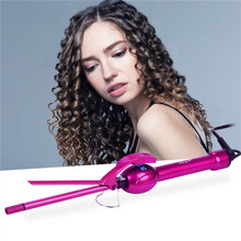 Curling Iron Hair-Curler Hair-Styling-Tools Tourmaline Ckeyin Temperature Ceramic Professional