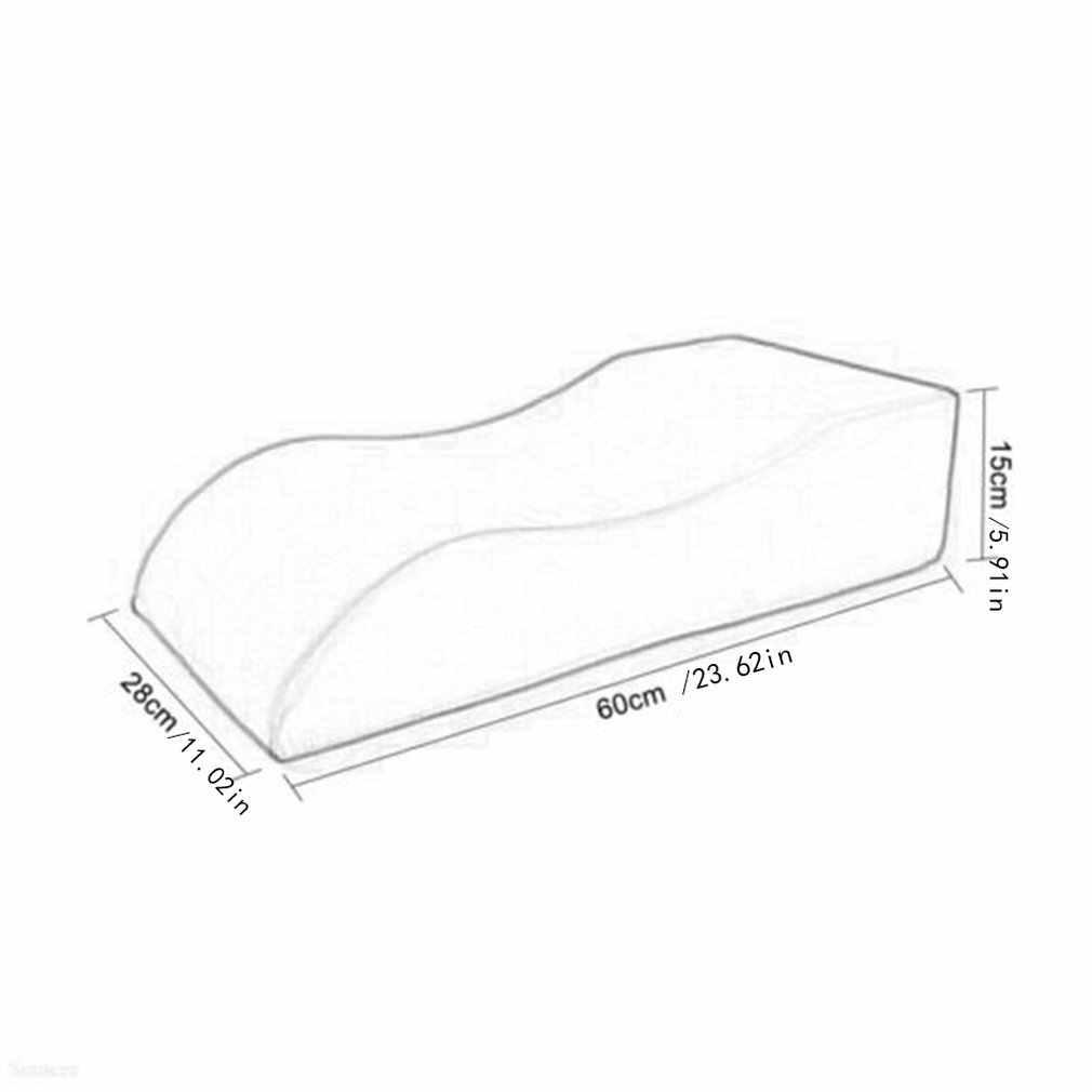 60*28*15Cm Angkat Kaki Pad Posisi Pad Menyerahkan Pad Tungkai Bawah Pad S-Kaki pad Anti-Decubitus Bantal