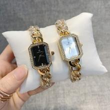 PABLO RAEZ reloj mujer kobieta zegarki diamentowe luksusowe pielęgniarka pani sukienka kobieta moda zegarek женские часы prezent wysokiej jakości tanie tanio QUARTZ Bransoletka zapięcie STAINLESS STEEL 3Bar Moda casual Rectangle Brak Hardlex 20cm Papier 28mm