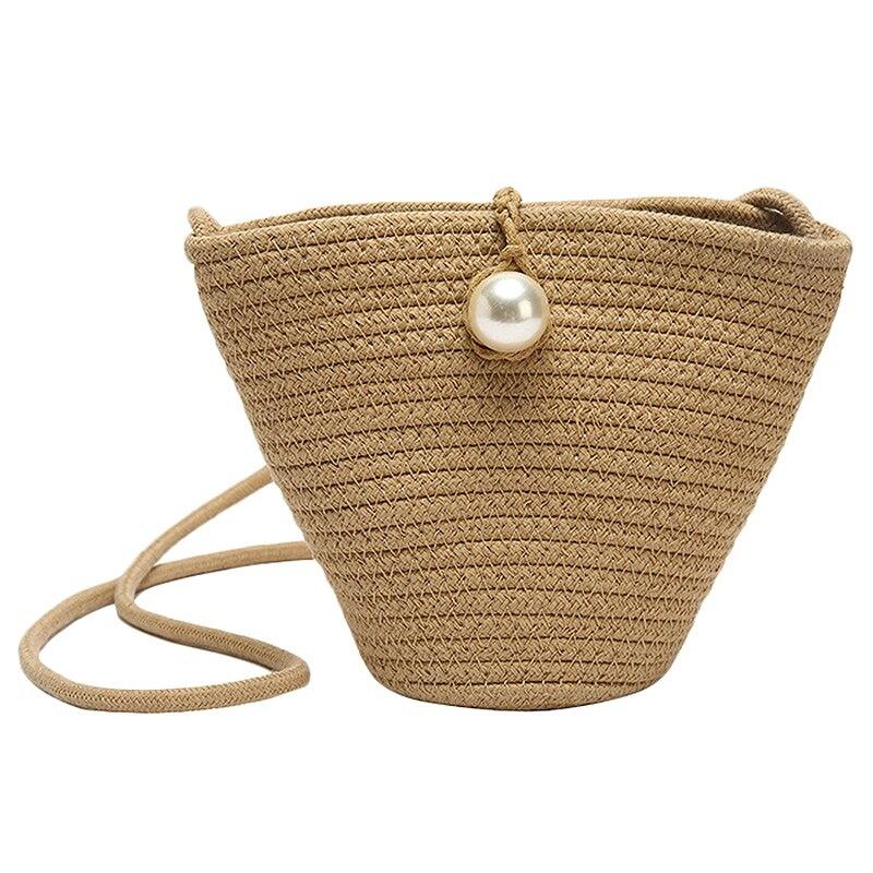 Сумки для женщин 2019 модная сумка-мессенджер Летняя Пляжная соломенная сумка маленькая плетеная Сумка через плечо для женщин