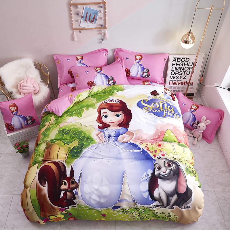 Disney Sofia Princess Bedding Twin 3d Comforter Sets Queen Size