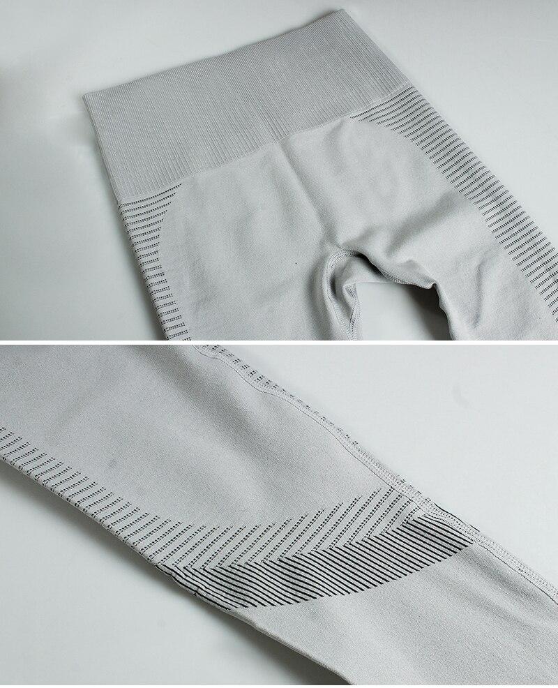 leggings elástico apertado empurrar para cima calças