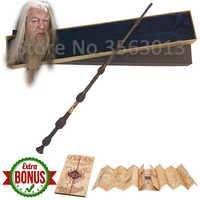 Mais novo Núcleo de Ferro HP O Ancião varinha mágica varinha 42 centímetros Dumbledore escritura Edição Não-luminoso varinha
