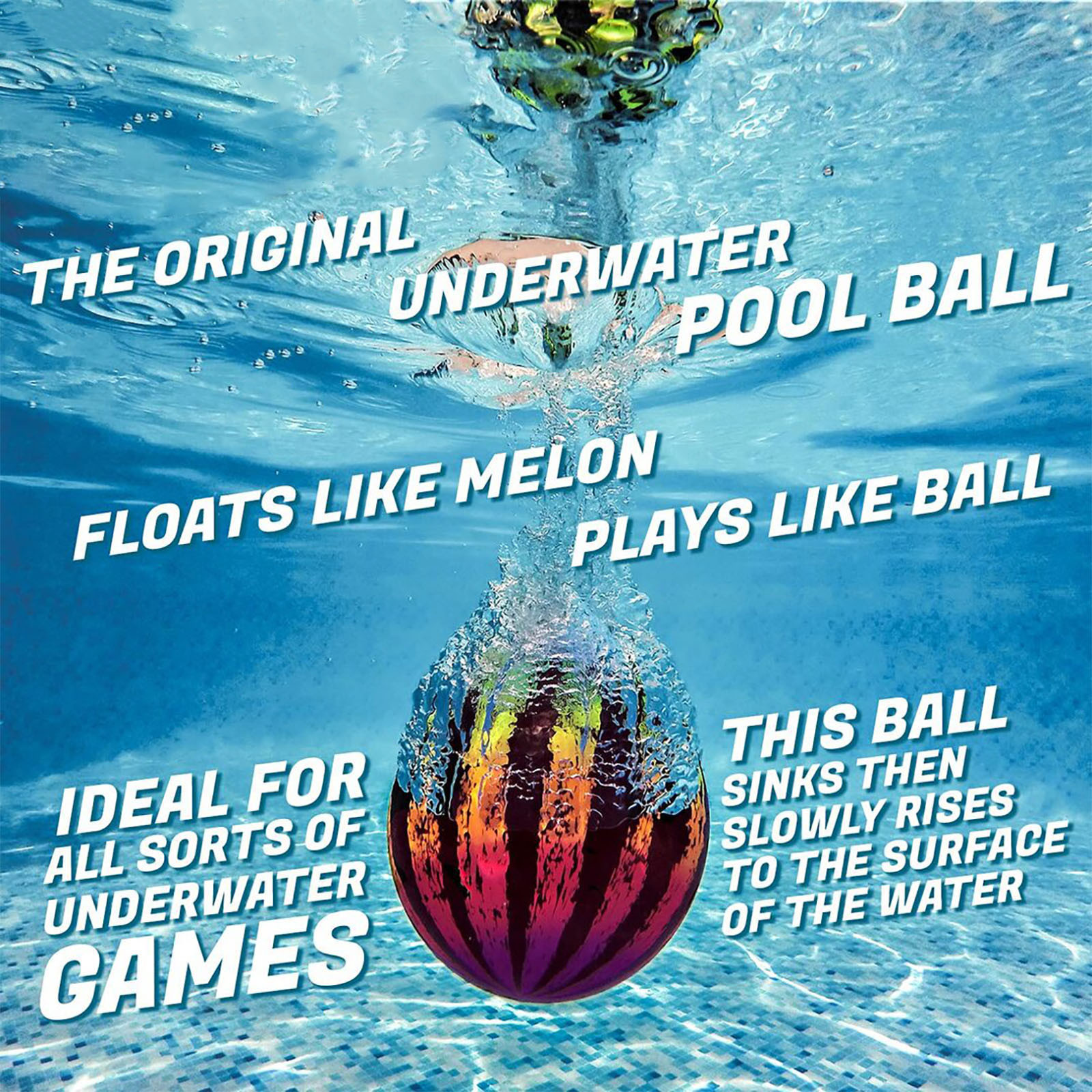 Water Balloons Funny Beach Swimming Pool Toys Watermelon Ball The Ultimate Swimming Pool Game For Under Water Passing