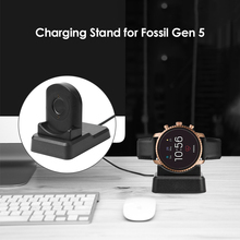 Chargeur de montre intelligente multifonction, adaptateur de support de charge, pour Fossil Gen 5/4/Venture HR