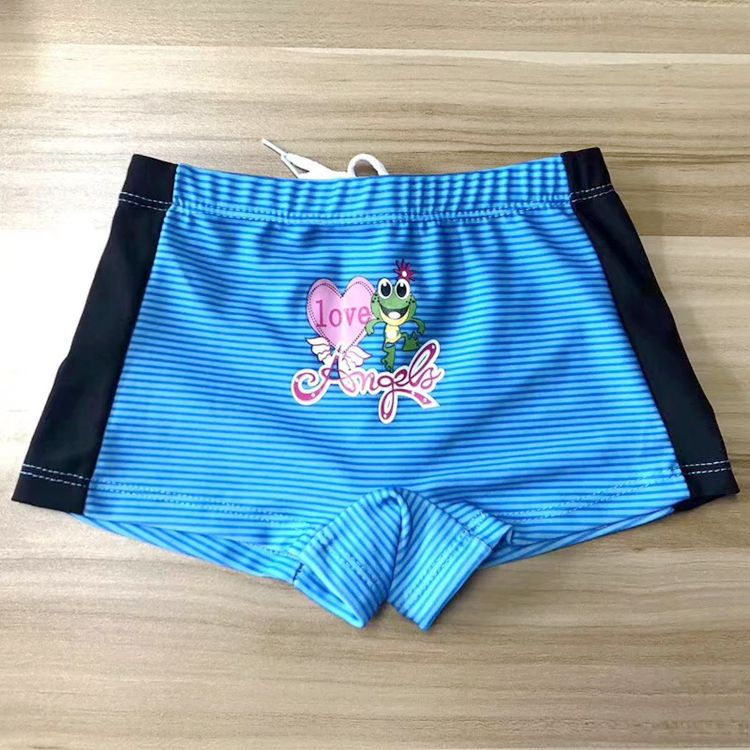 Children Hot Springs Stripes Swimming Trunks Baby Multi-Flower Type BOY'S Swimming Pool-Style Swimming Trunks 3-9-Year-Old