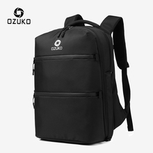 OZUKO 15.6 inch Laptop Backpacks Anti-thief Backpack for Teenager Male USB Charging Mochila Men Waterproof Casual Travel Bags
