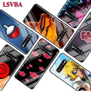 Anime Naruto for Samsung Galaxy Note 10 9 8 Pro S10e S10 5G S9 S8 S7 Plus Super Bright Glossy Phone Case Cover(China)