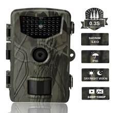 20MP 1080P Trail Hunting Camera HD Wildcamera sorveglianza selvaggia HC804A versione notturna telecamere per Scouting della fauna selvatica foto trappole traccia