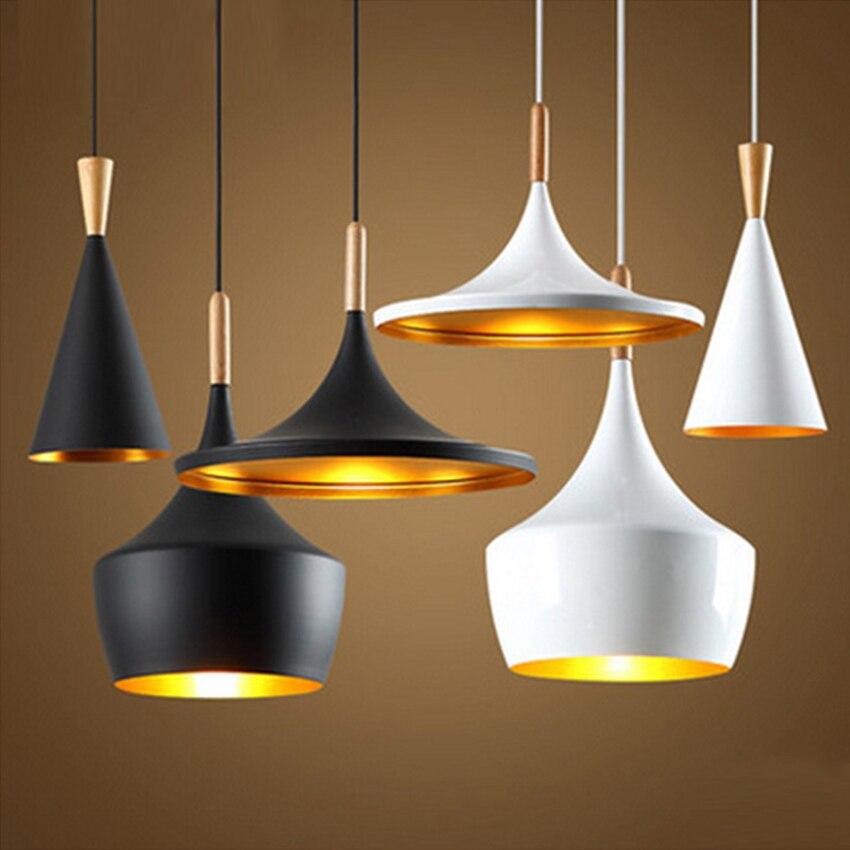 La conception de mode nordique a mené les lumières pendantes en aluminium barre de Restaurant décorent la lampe pendante éclairage de chambre à coucher de salon Luminaria