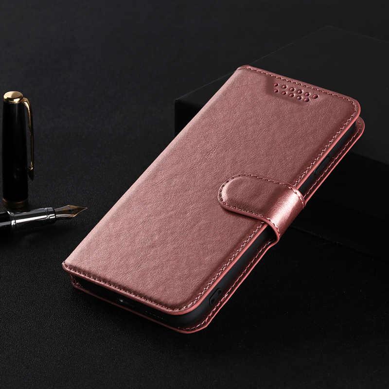 360 градусов ударопрочный кожаный флип Бумажник Мягкий Чехол Для Vodafone Smart Ultra 7 VFD700 крышка