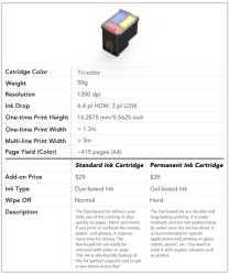 Cartriges Voor Printer Cube (Mbrush)