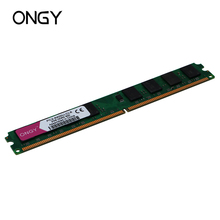 ONGY DDR2 2GB 800mhz Memoria RAM Desktop PC DIMM Memory PC2-6400 High Compatible for Intel and AMD цена и фото