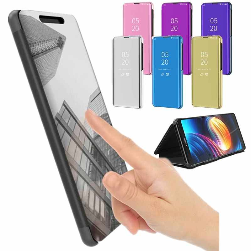 Smart Mirror View Case For Xiaomi Redmi 6A Phone Bag Cases 360 Smartphone Protector Leather Flip Cover For Xiaomi Redmi 6A 6 A