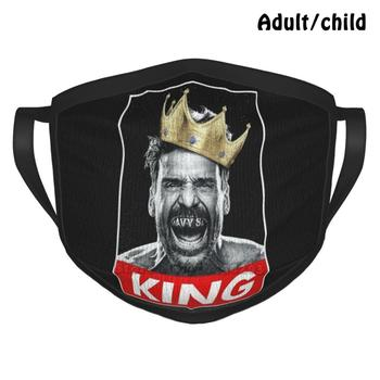 Fighter King Best Gift Funny Print Reusable Face Mask Navy St Kulina Alvey Nate Jay Kingdom Navy Street Documentary Fighter image