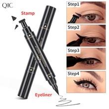 Double-Headed Waterproof Stamps Eye maquiagem Eye Cosmetic Quick Dry Sweatproof Not Blooming Long Lasting Eye Cosmetic