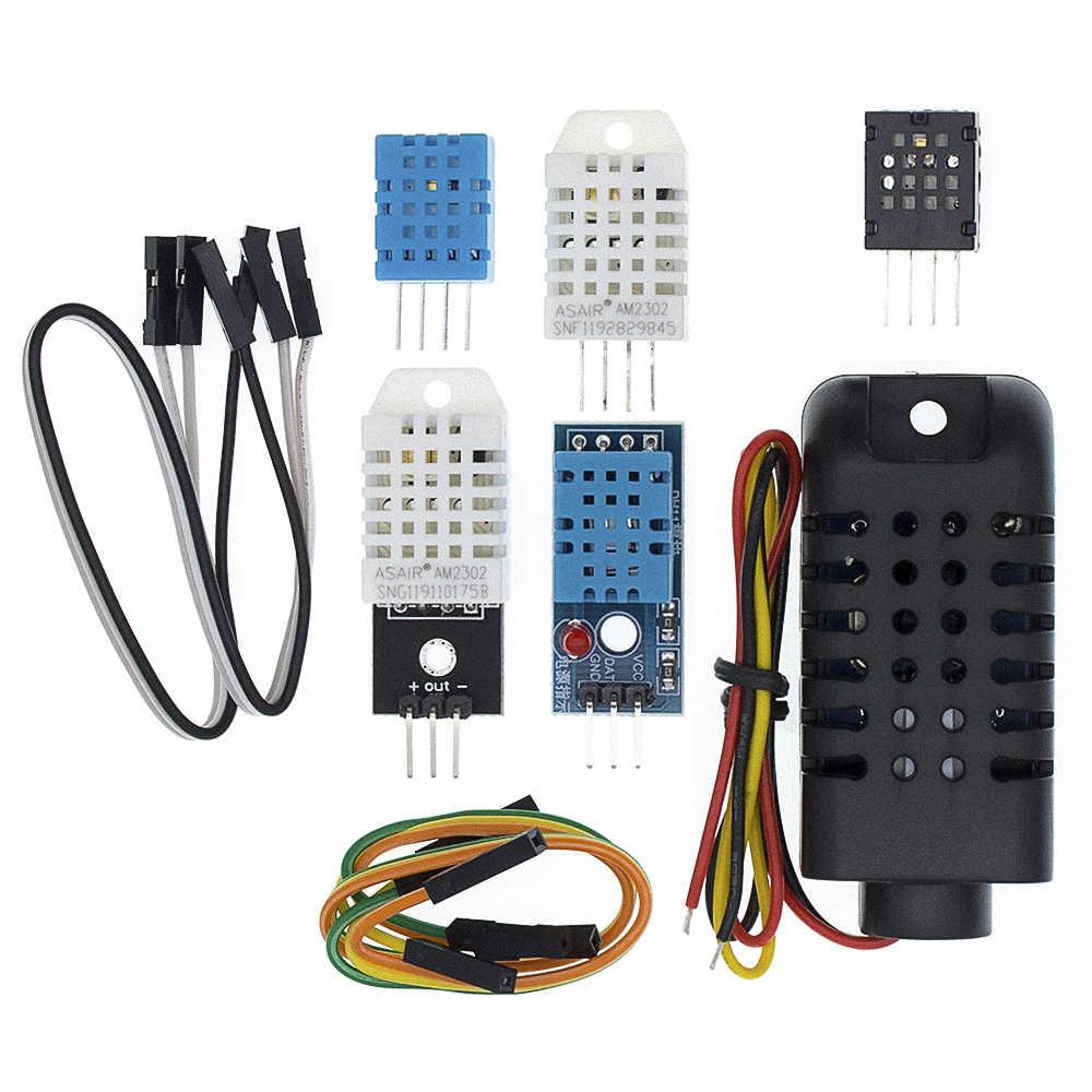Digitale di Temperatura e di Umidità Sensore DHT11 DHT22 AM2302 AM2301 AM2320 sensore e modulo Per Arduino elettronici FAI DA TE