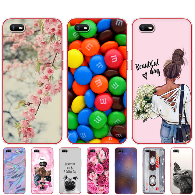 """For OPPO A1K Cases 6.1"""" Soft Silicon TPU phone Back cover For OppoA1K CPH1923 Phone Cover Bumper Bag"""