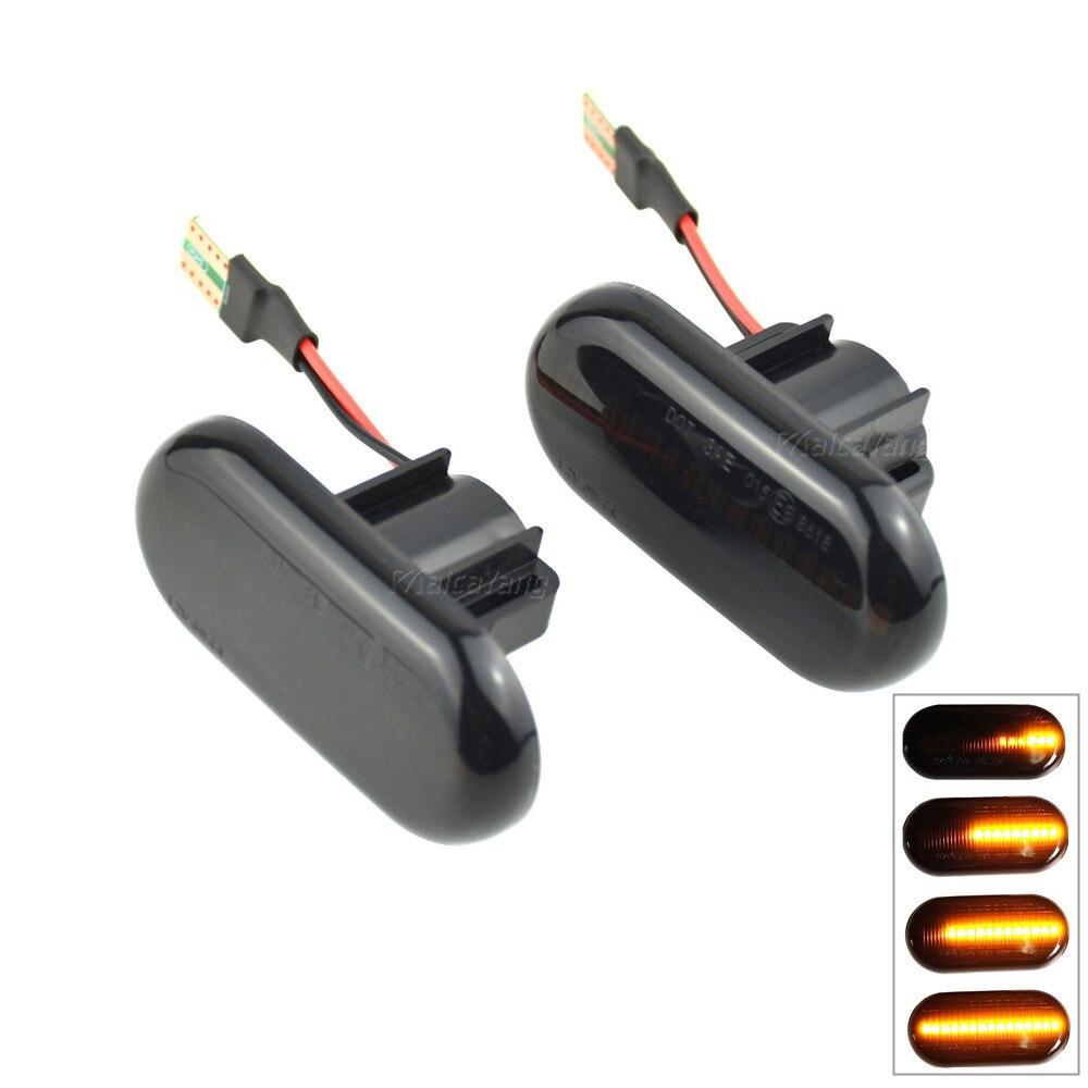 Светодиодный Динамический указатель поворота, светильник, боковой маркер для Renault Megane 1 Clio1 2 KANGOO ESPACE Dacia Duster Dokker Lodgy Smart Fortwo 453|Сигнальная лампа|   | АлиЭкспресс